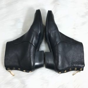 c04cfb73a60ce Vince Camuto Shoes - Vince Camuto Cinza Leather Studded Ankle Boots